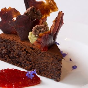 Aubergine and Chocolate Cake – Great British Chefs