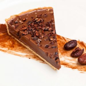 Sea-Salted Caramel Tart with Javanese Milk Chocolate – Great British Chefs