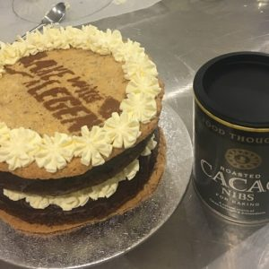 Howard Middleton – Great British Bake Off Contestant's Cacaoccino Wafer Cake